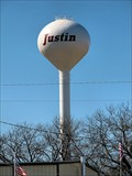Image for Justin water tower -- Justin, TX