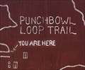 Image for Punchbowl Loop Trail Map - Pearblossom, CA