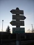 Image for Rozcestnik (vlakova zastavka) - Hradcany u Tisnova, Czech Republic
