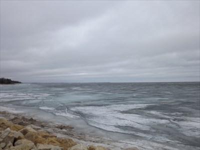 looking northward toward Gimli area