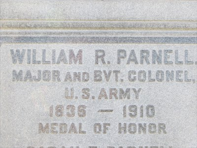 Medal of Honor Text, San Francisco National Cemetery