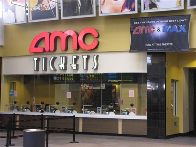 AMC 15 Ticket Booth from the right, Eastridge Mall, San Jose, California