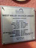 Image for West Valley Branch - 2003 -  San Jose, CA