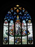 Image for St Mary the Virgin Church Windows - Therfield, Hertfordshire, UK