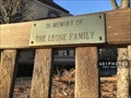 Image for The Leone Family dedicated bench - Westerly, Rhode Island  USA