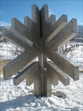 Image for Salt Lake City 2002 Winter Olympic Emblem - Soldier Hollow - Midway, UT, USA