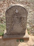 Image for M. B. Flowers - Clearview Cemetery - Chandler, OK