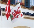 Image for Municipal Flag - Murten, FR, Switzerland