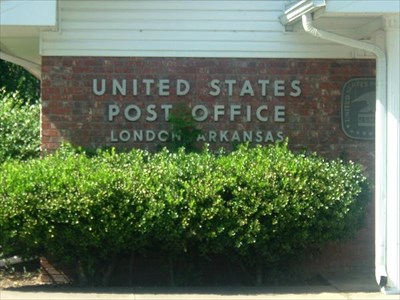 LONDON ARKANSAS POST OFFICE SIGN