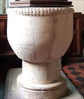 Image for Norman Font & Arcade - St Mary - Clipsham, Rutland