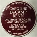 Image for Caroline DeCamp Benn - Holland Park Avenue, London, UK