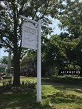 Image for Wickford - Updike's Newtown sign - Wickford, Rhode Island  USA
