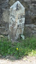 Image for Leeds Liverpool Canal milestone – Burnley, UK