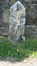 Image for Leeds Liverpool Canal milestone – Burnley, UK
