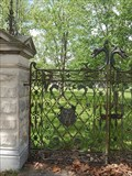 Image for T & E Wardell mansion gate - Macon, Missouri USA