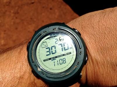 Altimètre à 3070m