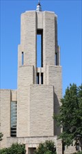 Image for St. Benedict's Abbey Church Steeple -- Mount St Scholastica College, Atchison KS