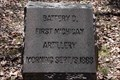 Image for 1st Michigan Artillery, Battery D Marker - Chickamauga National Battlefield, GA, USA