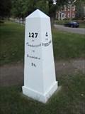 Image for National Road Mile Marker 127 - Wheeling, West Virginia