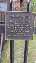 Image for AGT Building - 1938 - Fort Macleod, Alberta