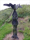 Image for Carnwyllion Castell - Signpost - Llanelli, Wales. Great Britain.