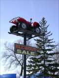Image for ATV on a Pole - Orillia, Ontario, Canada