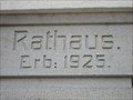 Image for 1925 - Town Hall Bebenhausen, Germany, BW