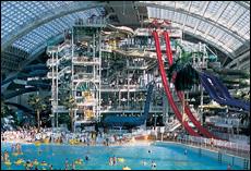 World Waterpark In West Edmonton Mall Amusement Parks On