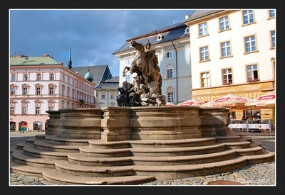 Julius Caesar and Julius Caesar (Lunar crater) - Olomouc