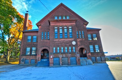 Ward Street School-Millbury Street - Worcester MA - U.S. National Register  of Historic Places on Waymarking.com