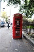 Image for Red Telephone Box - Kensington Road, London, UK