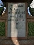 Image for 1868 - Statue of St. John of Nepomuk - Loucim, Czech Republic