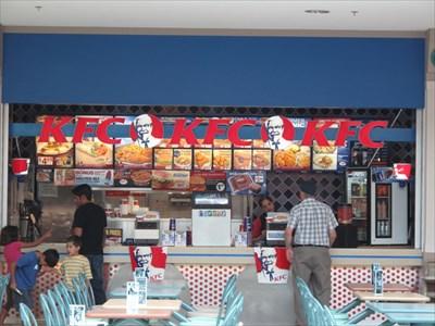 Kfc Sherwood Mall Sherwood Park Alberta Kentucky Fried