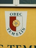 Image for Znak obce Temelin, Czech Republic