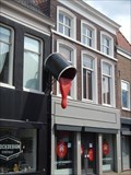Image for Can of red paint - Gorinchem, the Netherlands