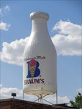 Image for Historic Route 66 - Milk Bottle Grocery - Oklahoma City, Oklahoma.