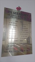 Image for Combined WWI / WWII memorial - Holy Trinity - Clifton, Derbyshire