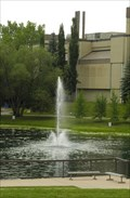 Image for Fountain at Convocation Green, Mount Royal University - Calgary, Alberta