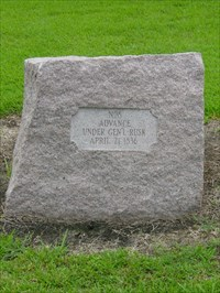 A DRT (Daughters of the Republic of Texas) marker. It is #08 on the San Jacinto Battfield map.