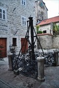 Image for Beautifuly decorated water pump in Kotor, Montenegro