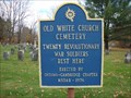 Image for Old White Church Cemetery - Cambridge, NY