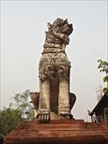 Image for Lions, Wat Phantau—Chiang Mai City, Thailand