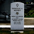 Image for Douglas Albert Munro - Laurel Hill Memorial Park - Cle Elum, Washington