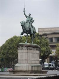 Voilà! c'est la statue