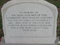 Image for (LEGACY) Colleyville Civil War Veterans Memorial