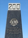 Image for USA 200th Anniversary Monument - Houston, TX