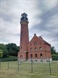 Image for Lighthouse on the island Greiswalder Oie in the Baltic Sea / Leuchtturm Greifswalder Oie