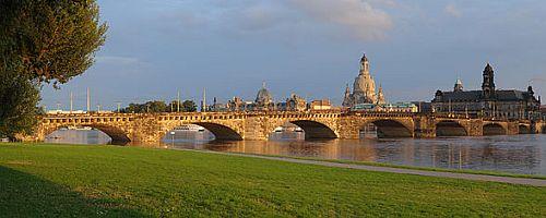 Augustus Bridge Augustusbrücke Dresden Germany Arch Bridges On