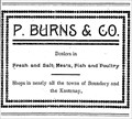 Image for P. Burns and Company- Greenwood, BC - 1907