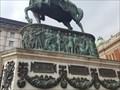 Image for Relief at Prince Mihailo Obrenovic Statue - Belgrade, Serbia